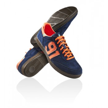 NinetyOne navy/orange - Salming