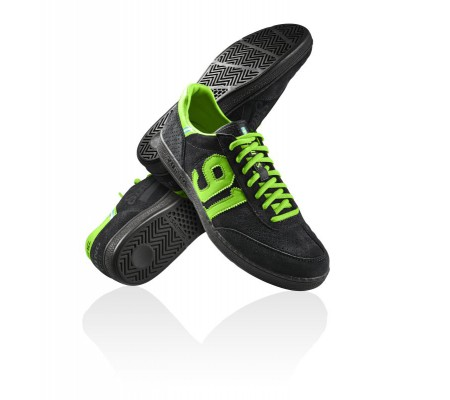 NinetyOne black/green - Salming