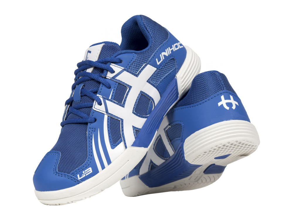 Shoe U3 Junior Unisex blue/white - Unihoc