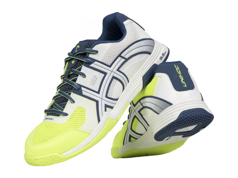 Shoe U3 Elite Men white blue yellow - Unihoc empty 82543466bd
